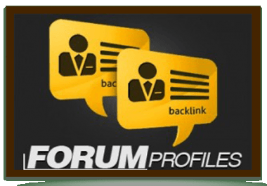 Manually Create 40 Profile Back-Links Relative to Site Niche