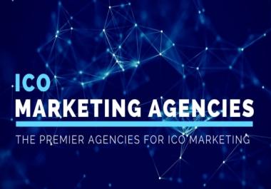 do marketing for upcoming ico or active cryptocurrency via forum or socialmedia