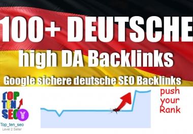 100 plus high authority german backlinks BASIC 5+ Backlinks