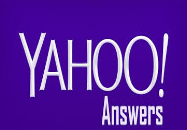 promote your website/business by 2018 Updated 10  HQ YAHOO Answer posting with  your keyword and URL