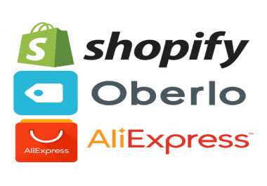 will sign you up for 30 days Shopify Free Trial and create a dropship store