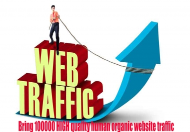 unlimited real traffic by twitter youtube google for 1 month for $20