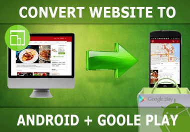 Convert your website into a fast android app
