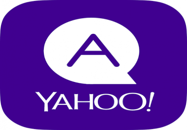 Provide your Article/website/business relevant 5 HQ Yahoo Answer with keyword,URL , targeted traffic