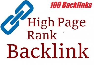 Create 100 dofollow backlinks High quality