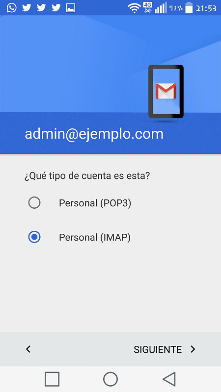 Acceso desde Android