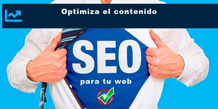Optimiza el contenido web