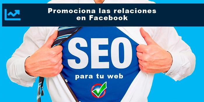 Promociona las relaciones en Facebook