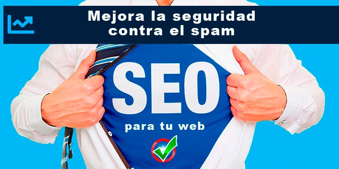 Mejora la seguridad contra el spam