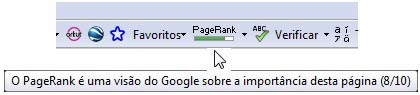 pagerank toolbar