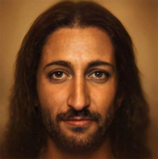 Нейросеть воссоздала портрет Иисуса Христа