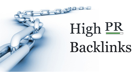 High PageRank are genrated through backlinks
