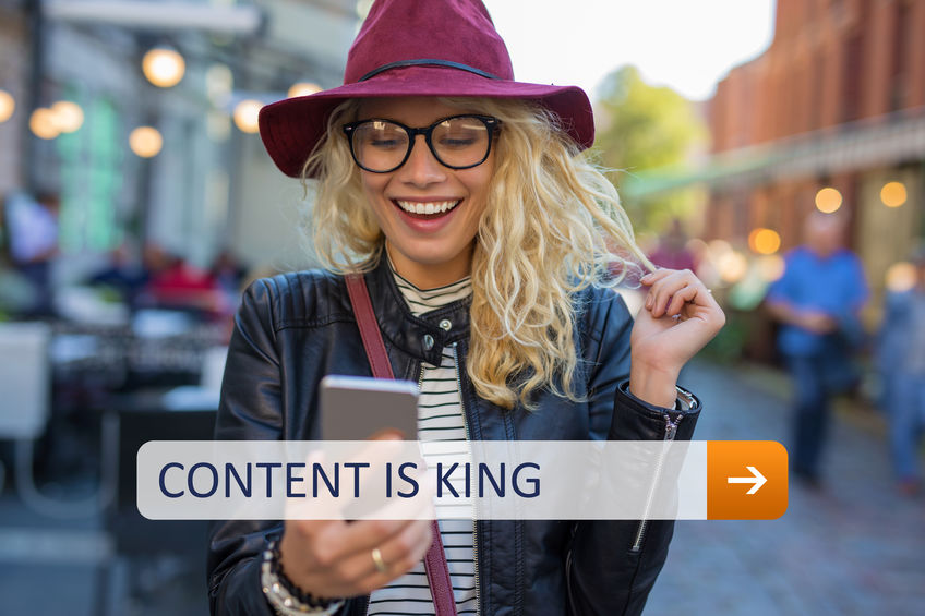Content is king for SEO