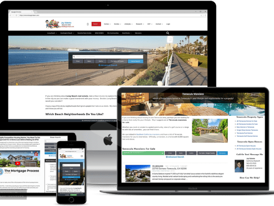 Real Estate Websites for Realtors