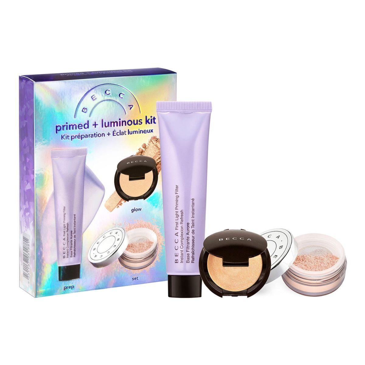 Primed + Luminous Kit - Estuche de maquillaje of BECCA COSMETICS ≡ SEPHORA