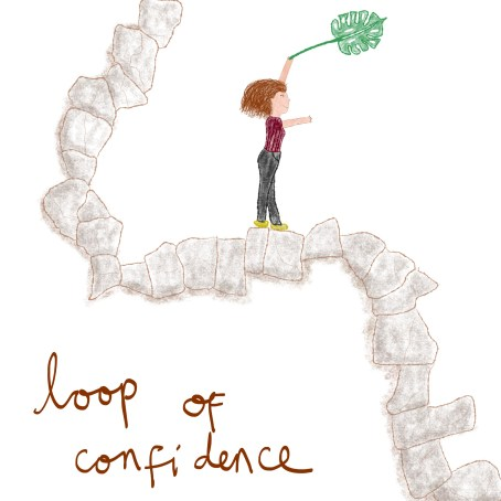 music loops of confidence by sepia flora