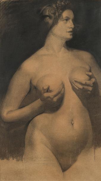 Firmin Baes nude woman