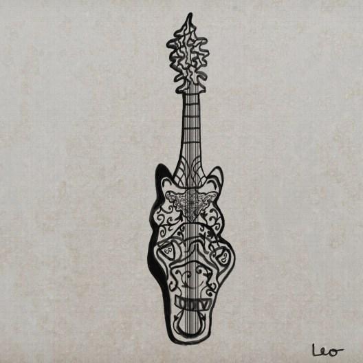 lira da braccio horse by da Vinci
