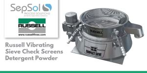 Russell Vibrating Sieve Check Screens Detergent Powder