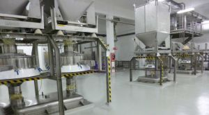 Screening Milk Powder at Nestlé Chile