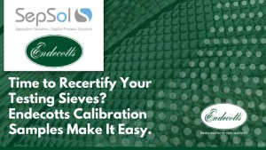 Read more about the article Is It Time To Recertify Your Testing Sieves?