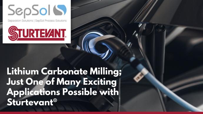 Lithium Carbonate Milling