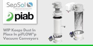 WIP keeps dust in place in piFLOW®p vacuum conveyors