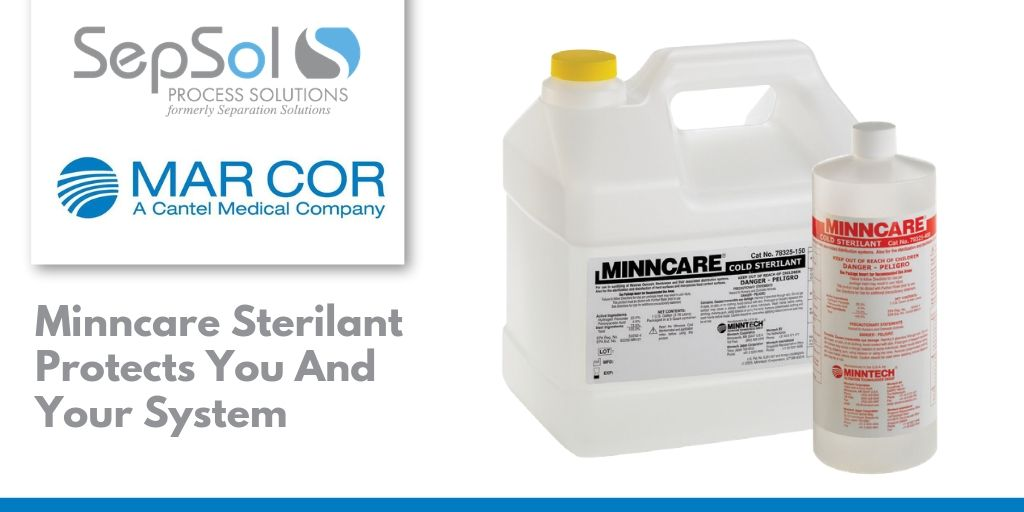 Minncare Sterilant Protects You And Your System