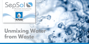 Unmixing Water From Waste – Shelco Filters