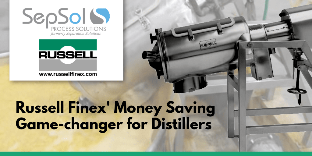 Russell Finex' Money Saving Game-changer for Distillers