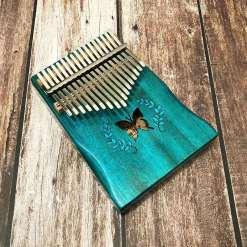 Kalimba Relaxation Papillon Bleu