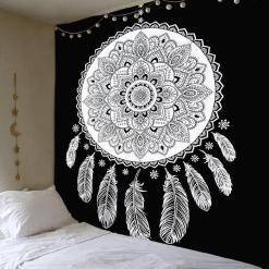 Tenture Mandala Indien Capteur de Rêve