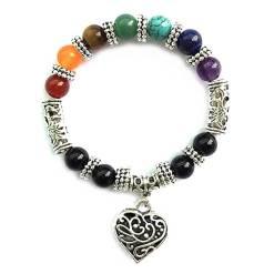 Bracelet 7 Chakras guerison et amour