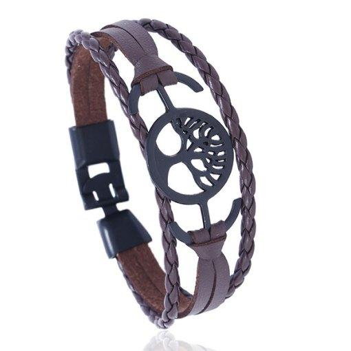 Bracelet Arbre de Vie Homme Bjorn