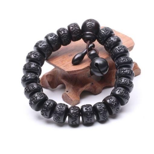 Bracelet Bouddhiste Bois méditation