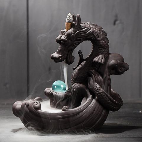 Porte-Encens Japonais Dragon