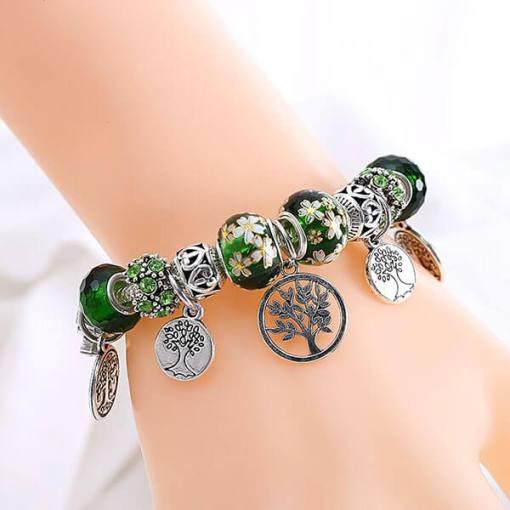 Bracelet Arbre de vie naturel
