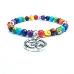 Bracelet 7 Chakras AUM
