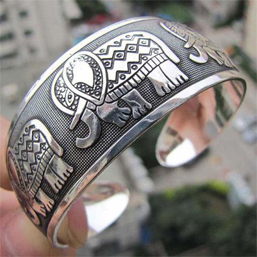 Bracelet Chance Tibétain Éléphant