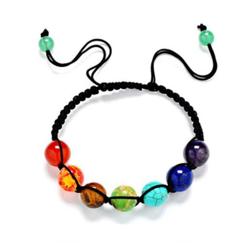 bracelet 7 chakras authentique 0mm