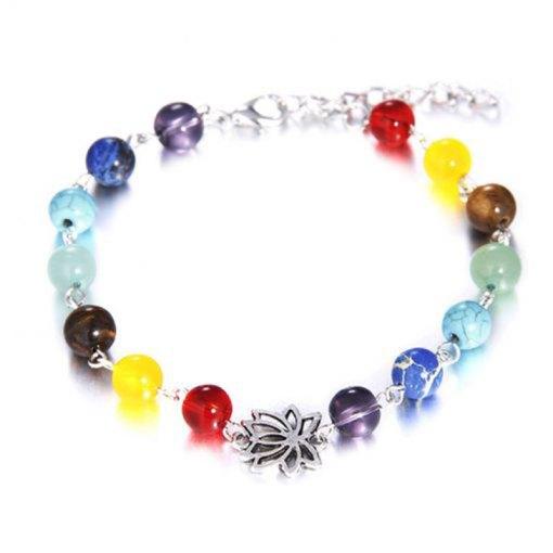 Bracelet 7 Chakras Femme