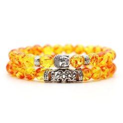 Bracelet Ambre Bouddha