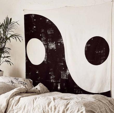 Tenture Murale Yin Yang Équilibre