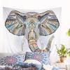 Tenture Murale Indienne Éléphant Mystique