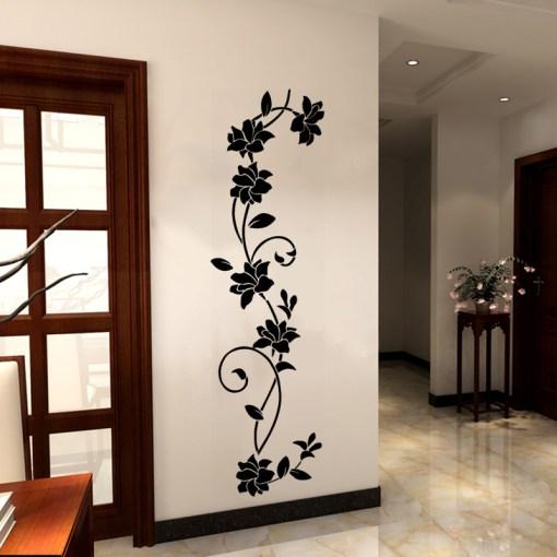 Stickers Fleurs Grimpantes - Décoration Zen - Sept-Chakras