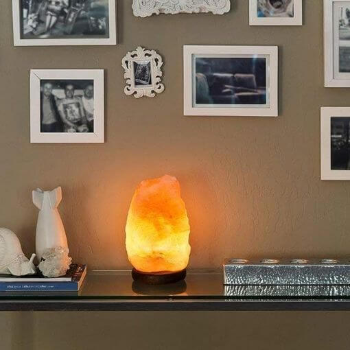 Lampe Pierre de Sel Rose