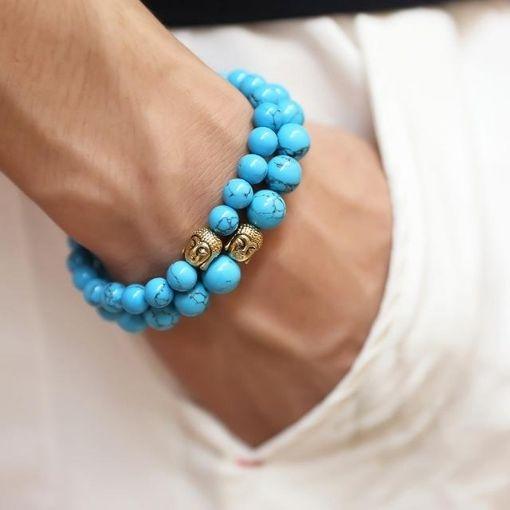 Bracelet Tête de Bouddha Harmonie