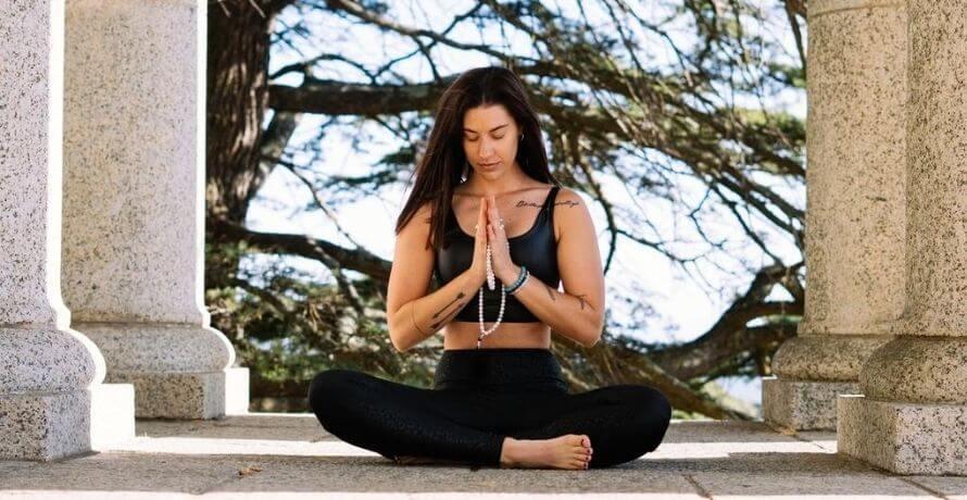 Méditation avec la fleur de vie