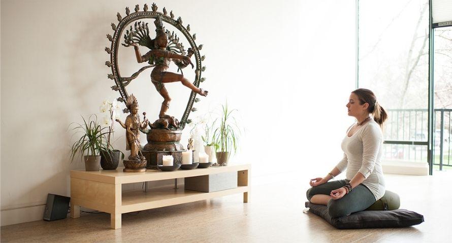 Siège de méditation