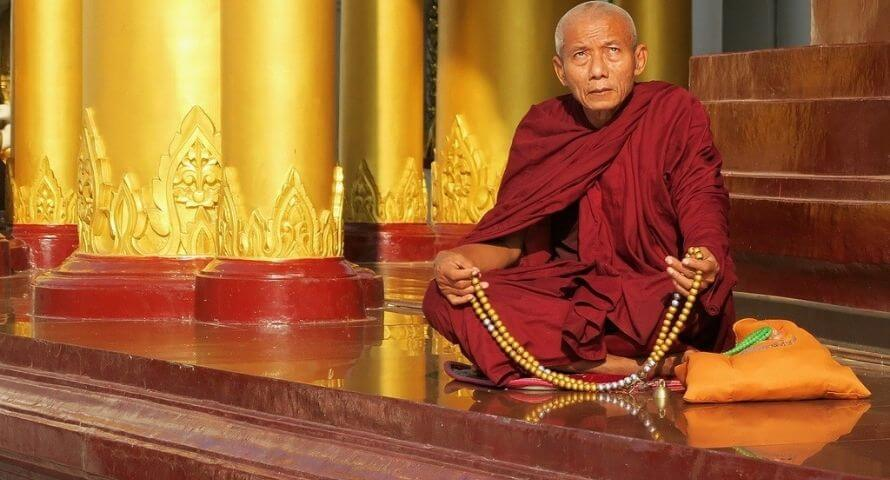 chapelet mala tibetain